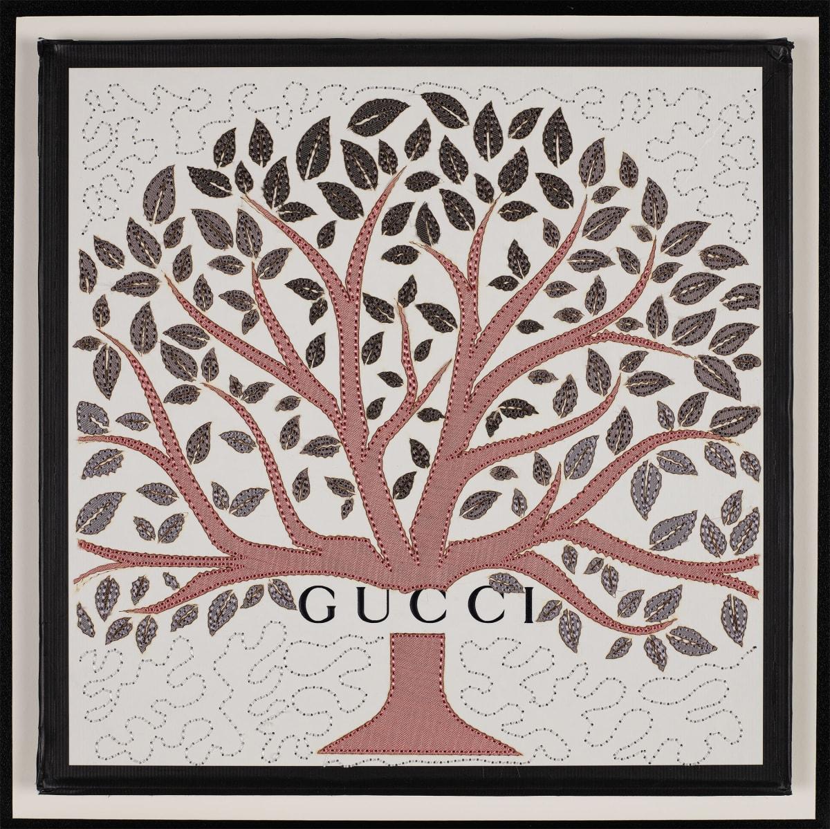 Stephen Wilson, Gucci Tree (Pink), 2019