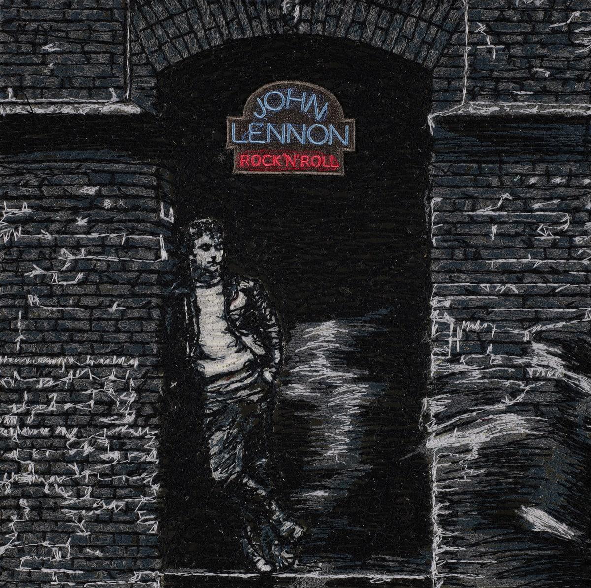 Stephen Wilson, Rock'n'Roll, John Lennon, 2020