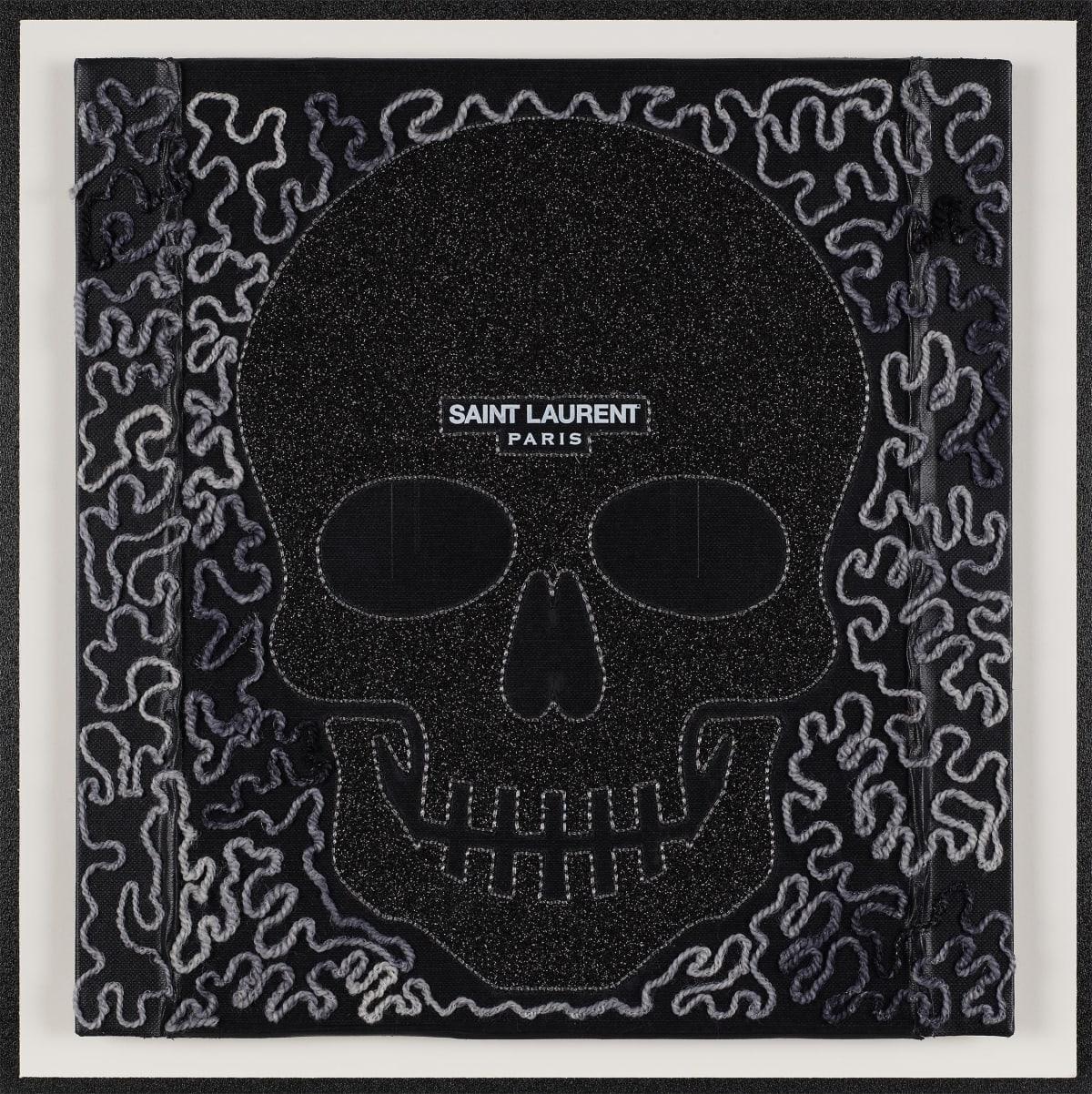 Stephen Wilson, SL Skull (Black), 2019