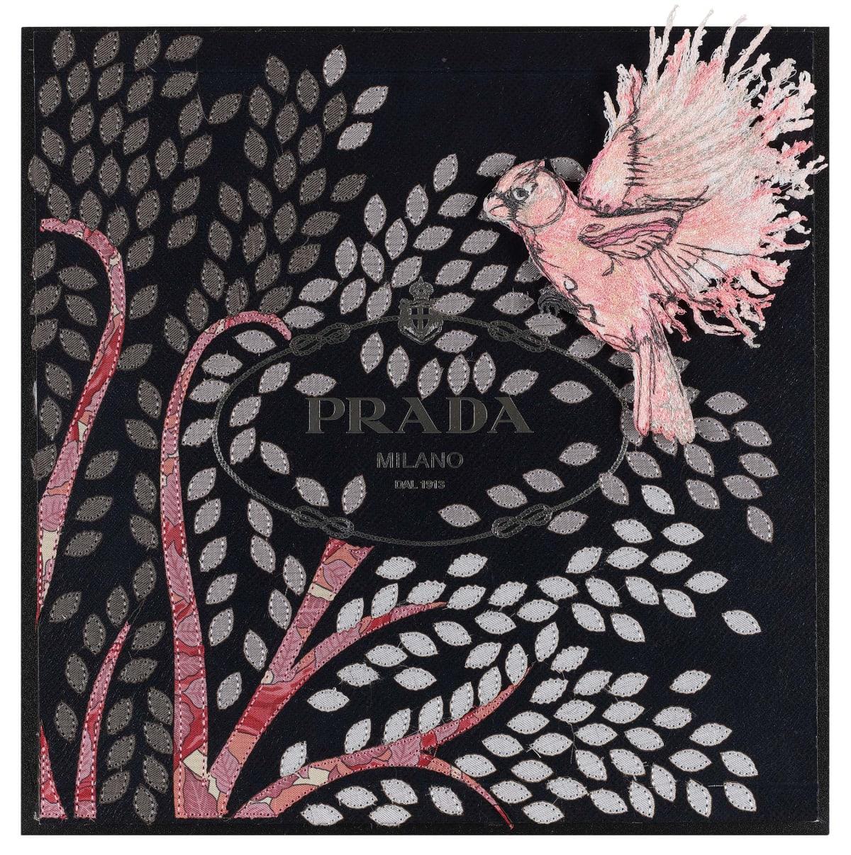 Stephen Wilson, Prada Bird of Life (Pink), 2019