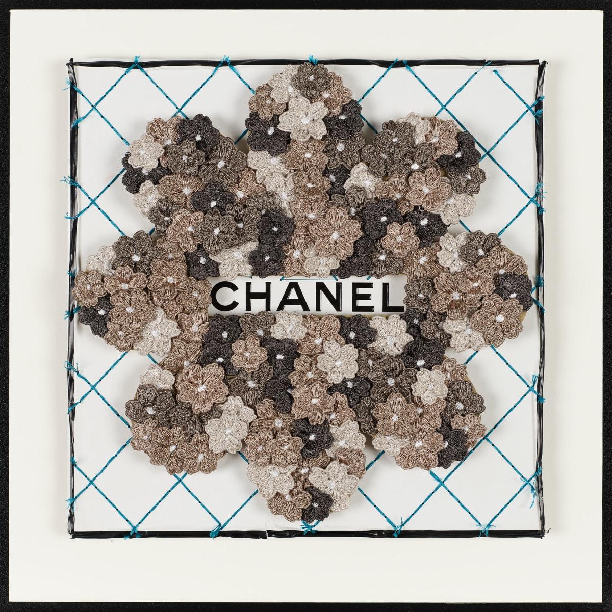 Stephen Wilson, Chanel Flower Flower, Warm Grey , 2019