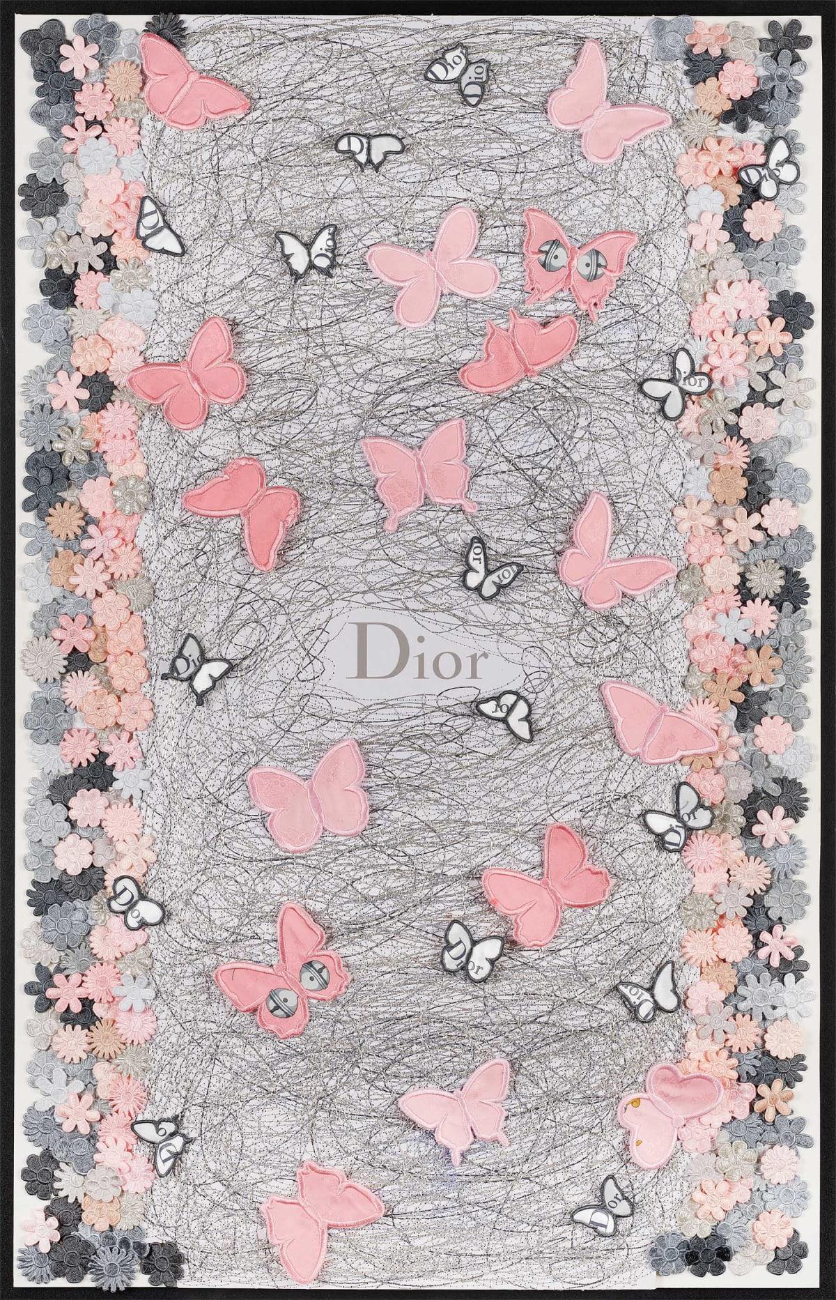 Stephen Wilson, Dior Blush Flutter , 2019