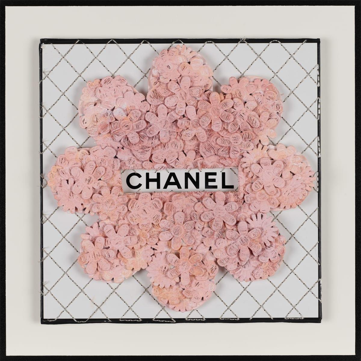 Stephen Wilson, Chanel Flower Flower, Blush, 2019