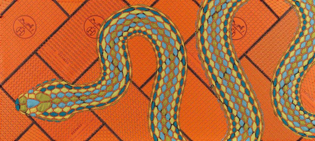 Stephen Wilson, Hermes Beryl Serpent, 2020
