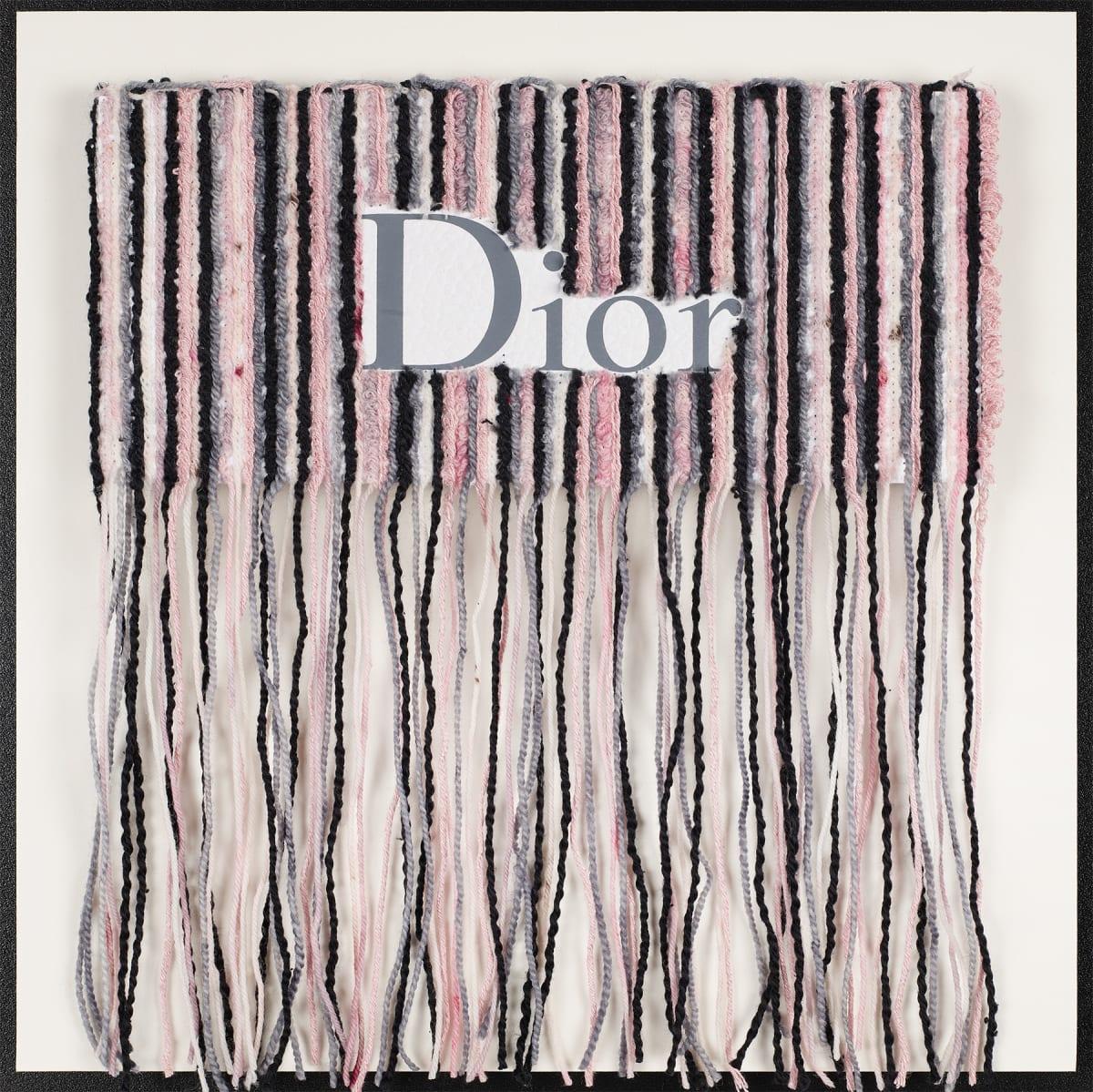 Stephen Wilson, Dior Yarn Drip Study II, 2019