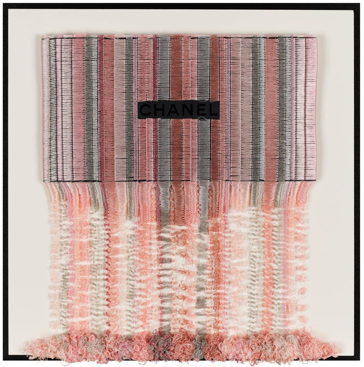 Stephen Wilson, Chanel Blush Drip III, 2019