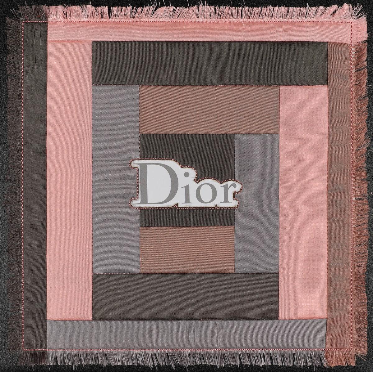 Stephen Wilson, Dior Quilt Square, 2019