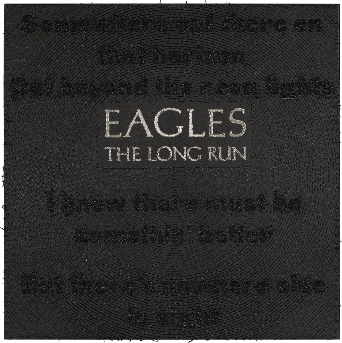 Stephen Wilson, The Long Run, Eagles , 2019