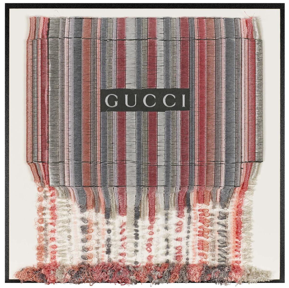 Stephen Wilson, Gucci Blush Drip, 2019