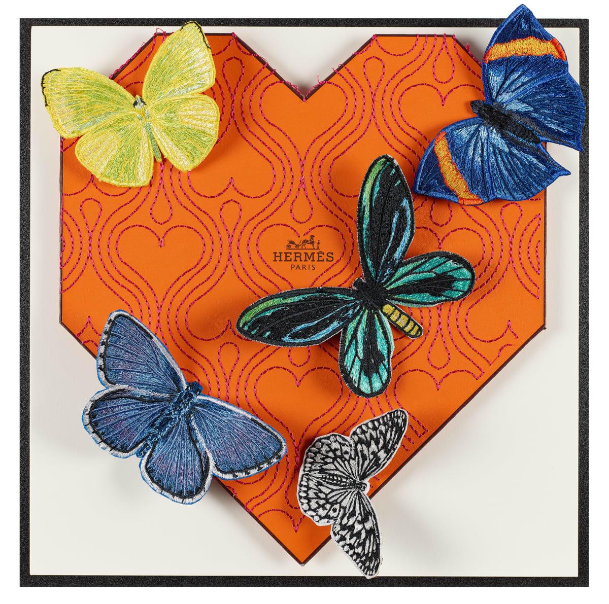 Stephen Wilson, Hermes Flutter Heart Variation, 2020