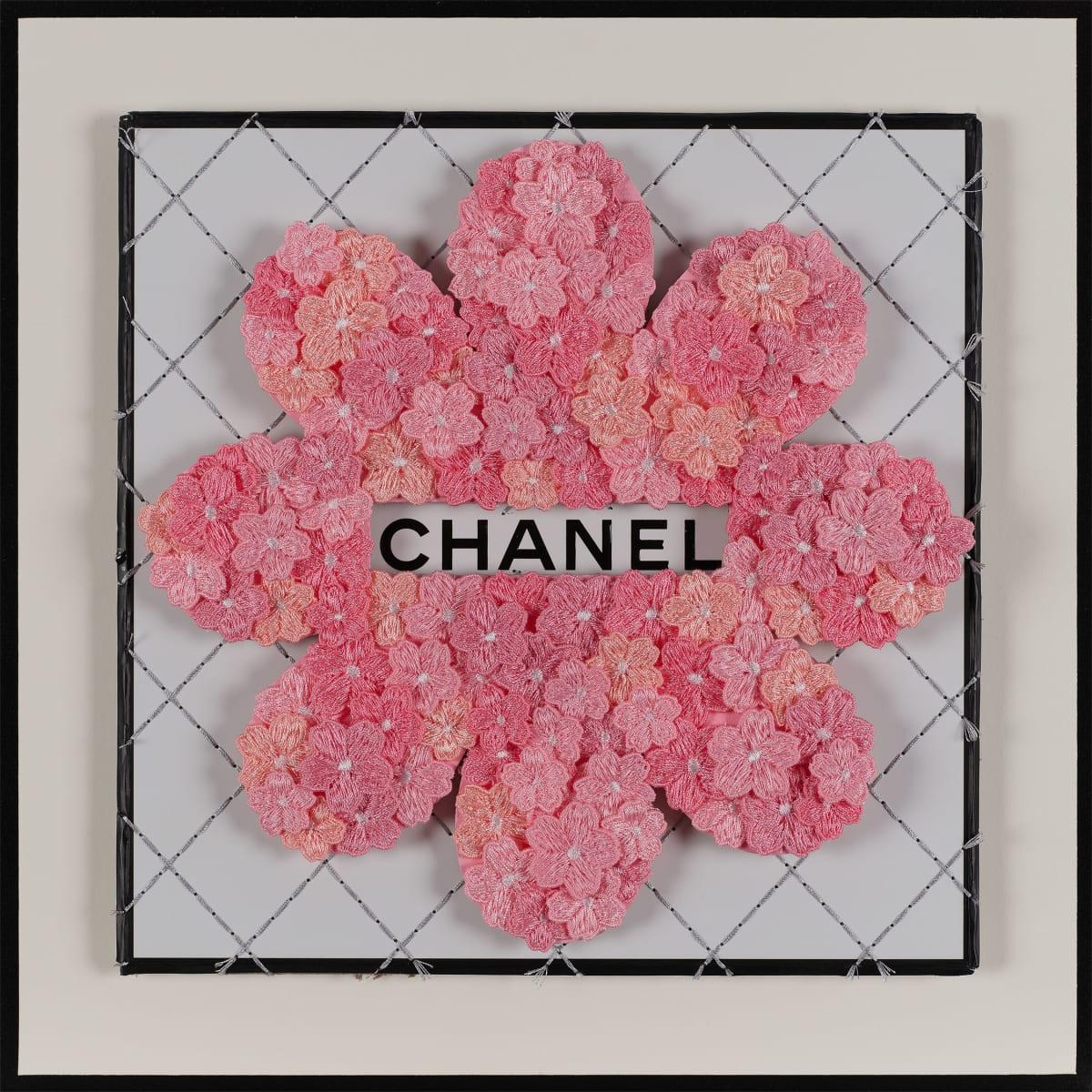Stephen Wilson, Chanel Flower Flower, Bubblegum, 2019