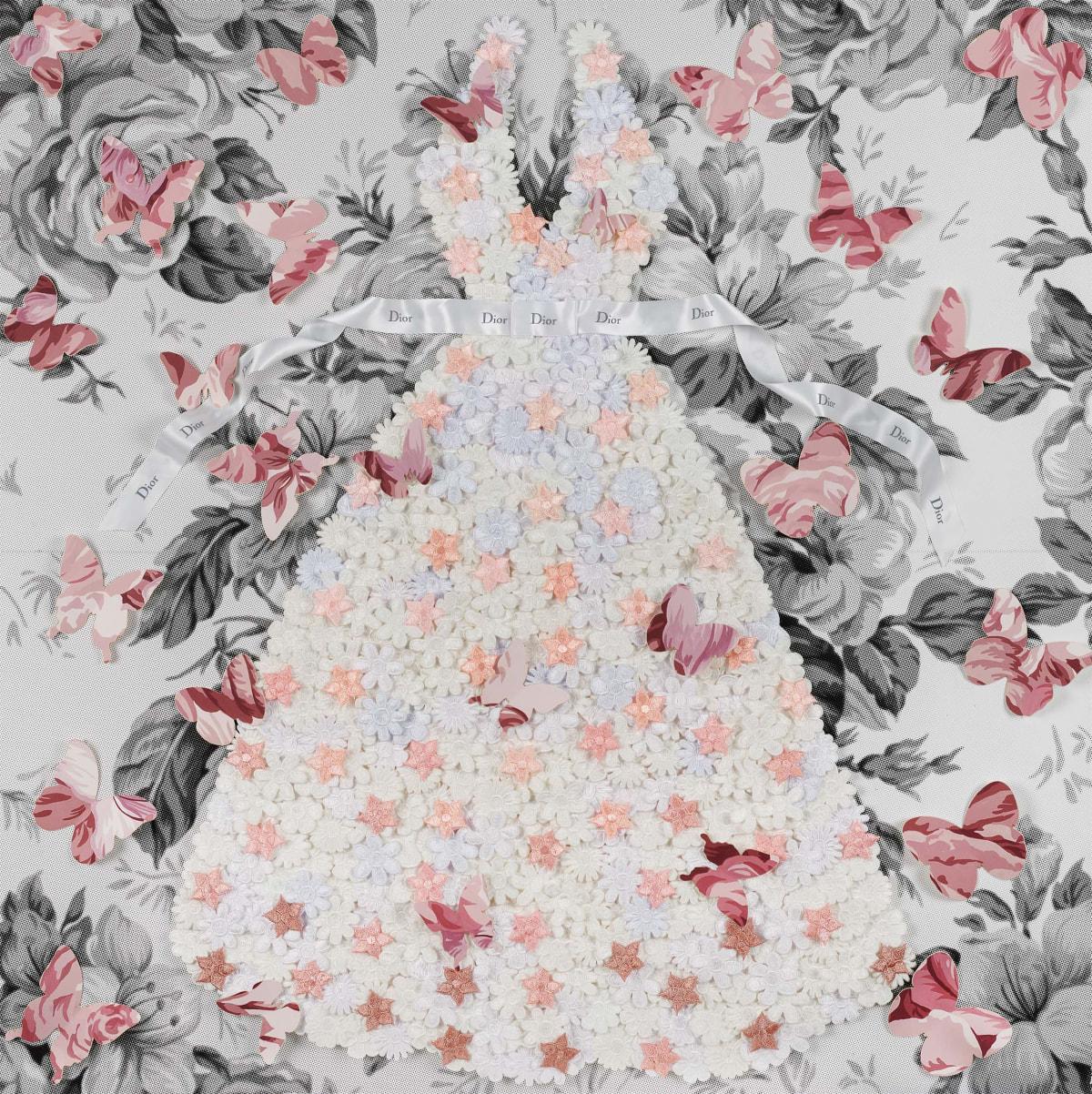 Stephen Wilson, Blushing Butterflies , 2019