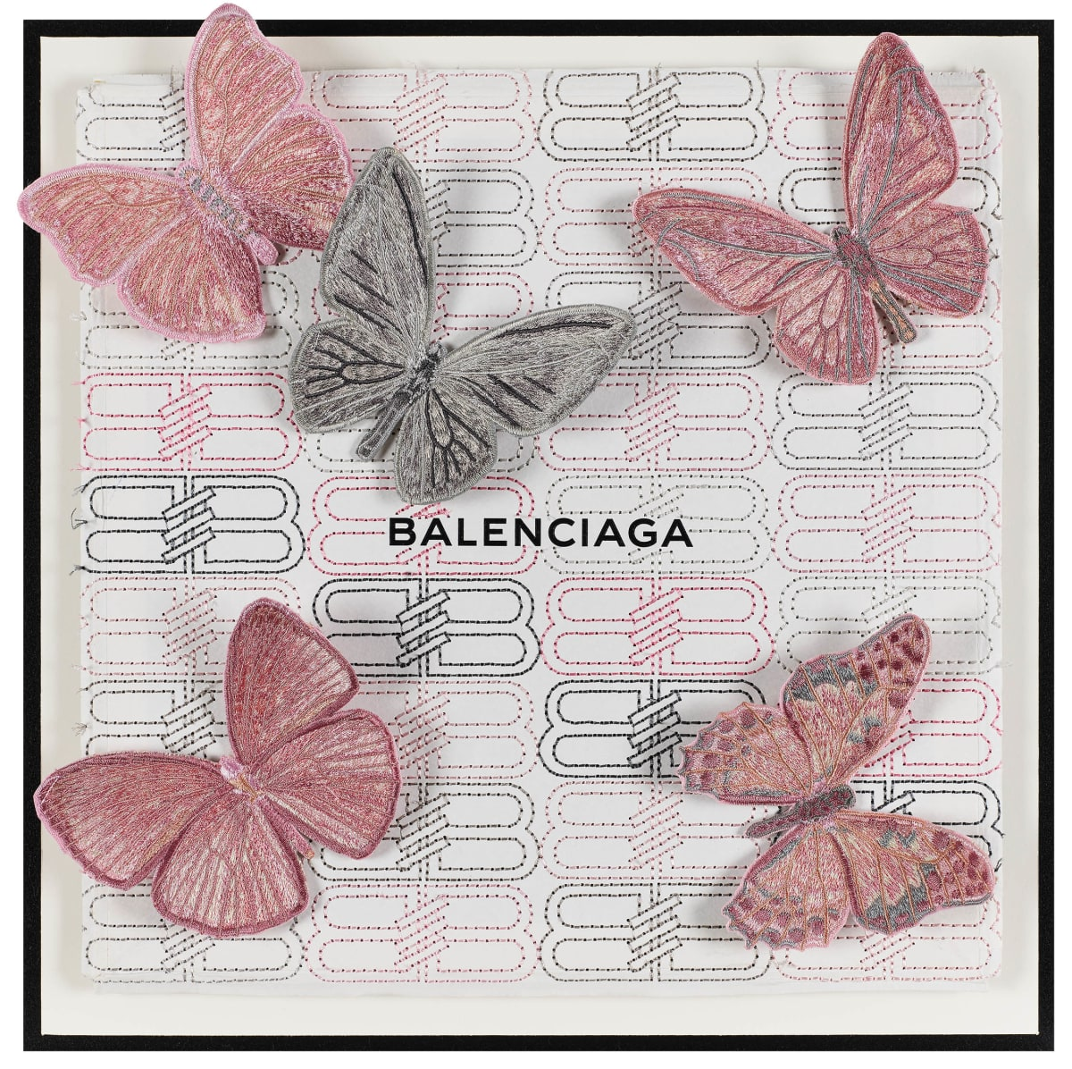 Stephen Wilson, Balenciaga Pink Flutter , 2019