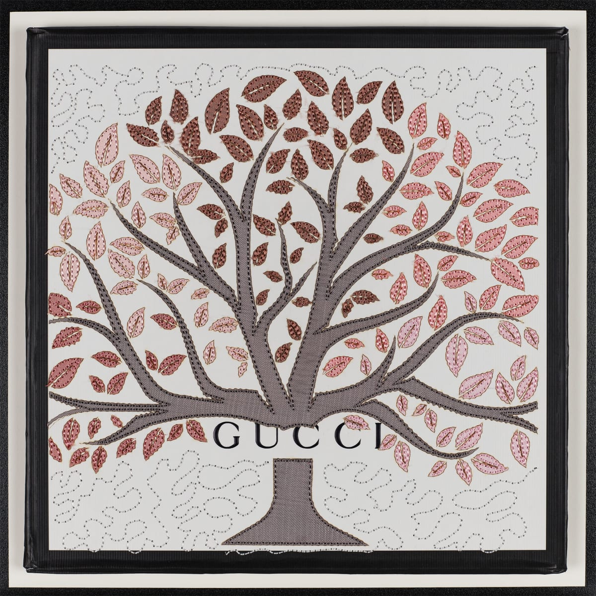 Stephen Wilson, Gucci Tree (Grey), 2019