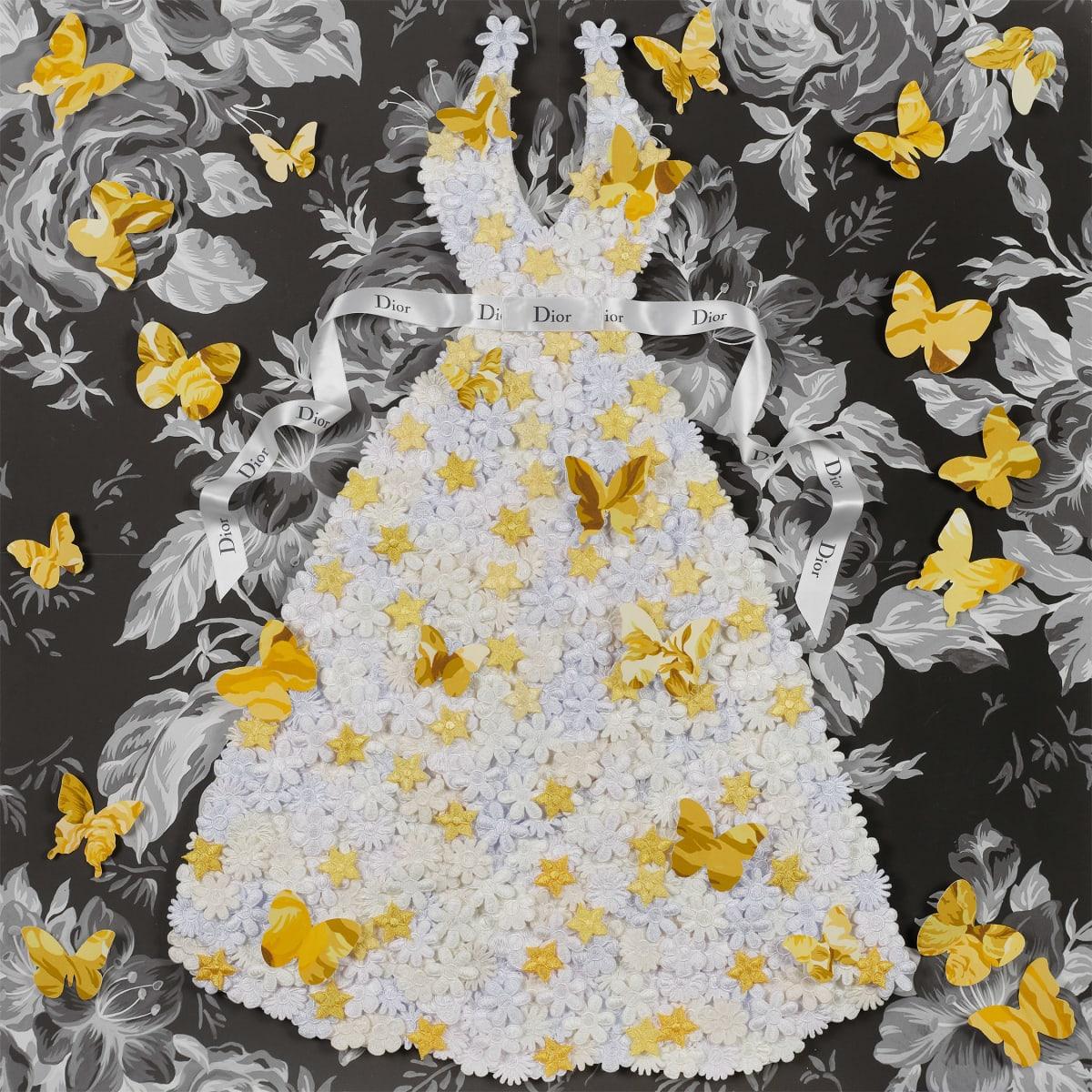 Stephen Wilson, Princess Dior, Yellow , 2019