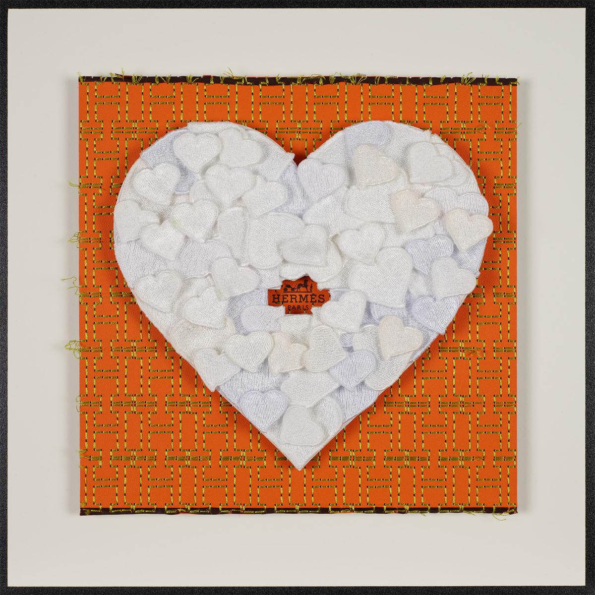 Stephen Wilson, Hermes Hearts, White, 2019