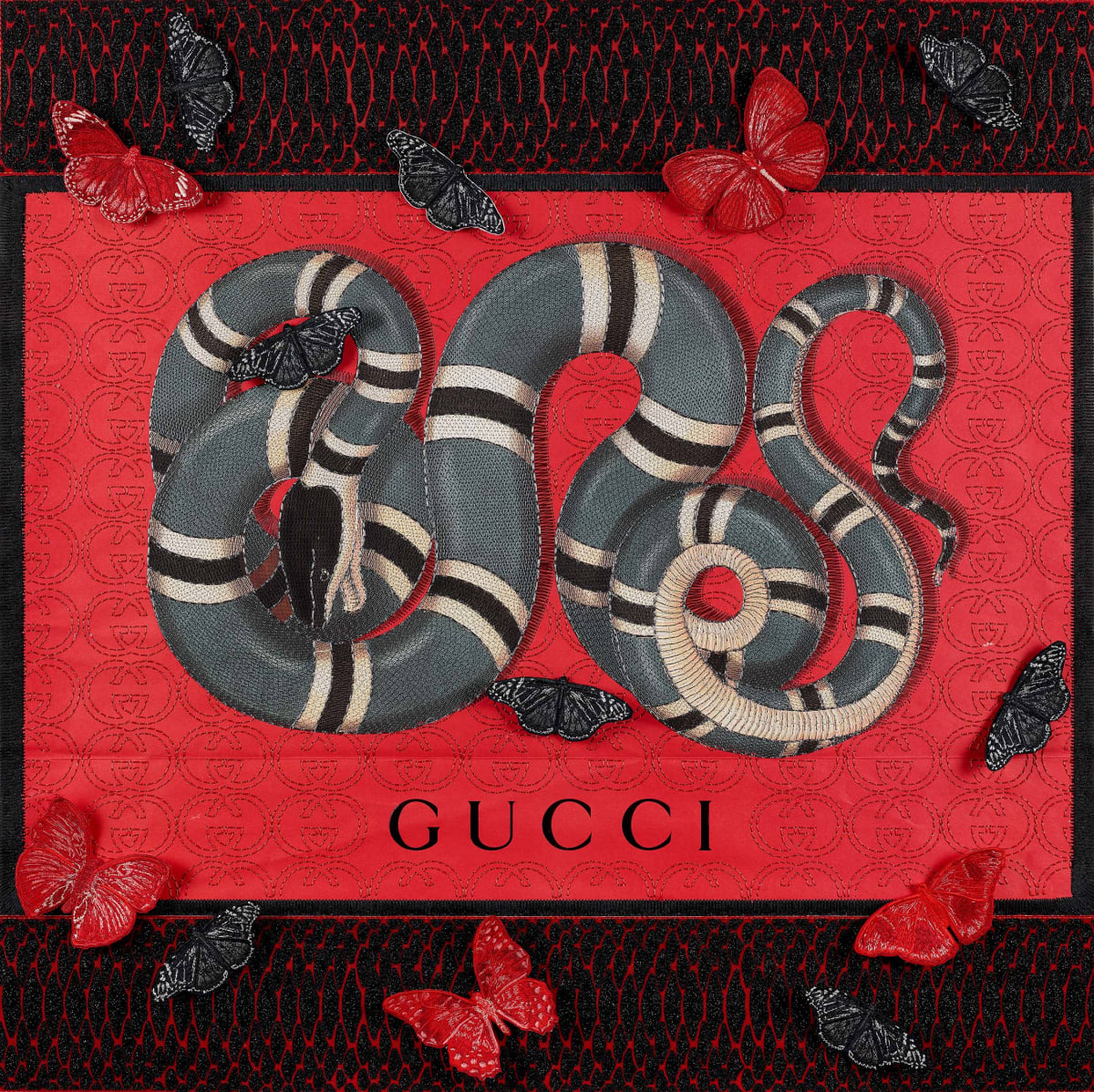 Stephen Wilson, Gucci Snake Tracks Variation, 2020