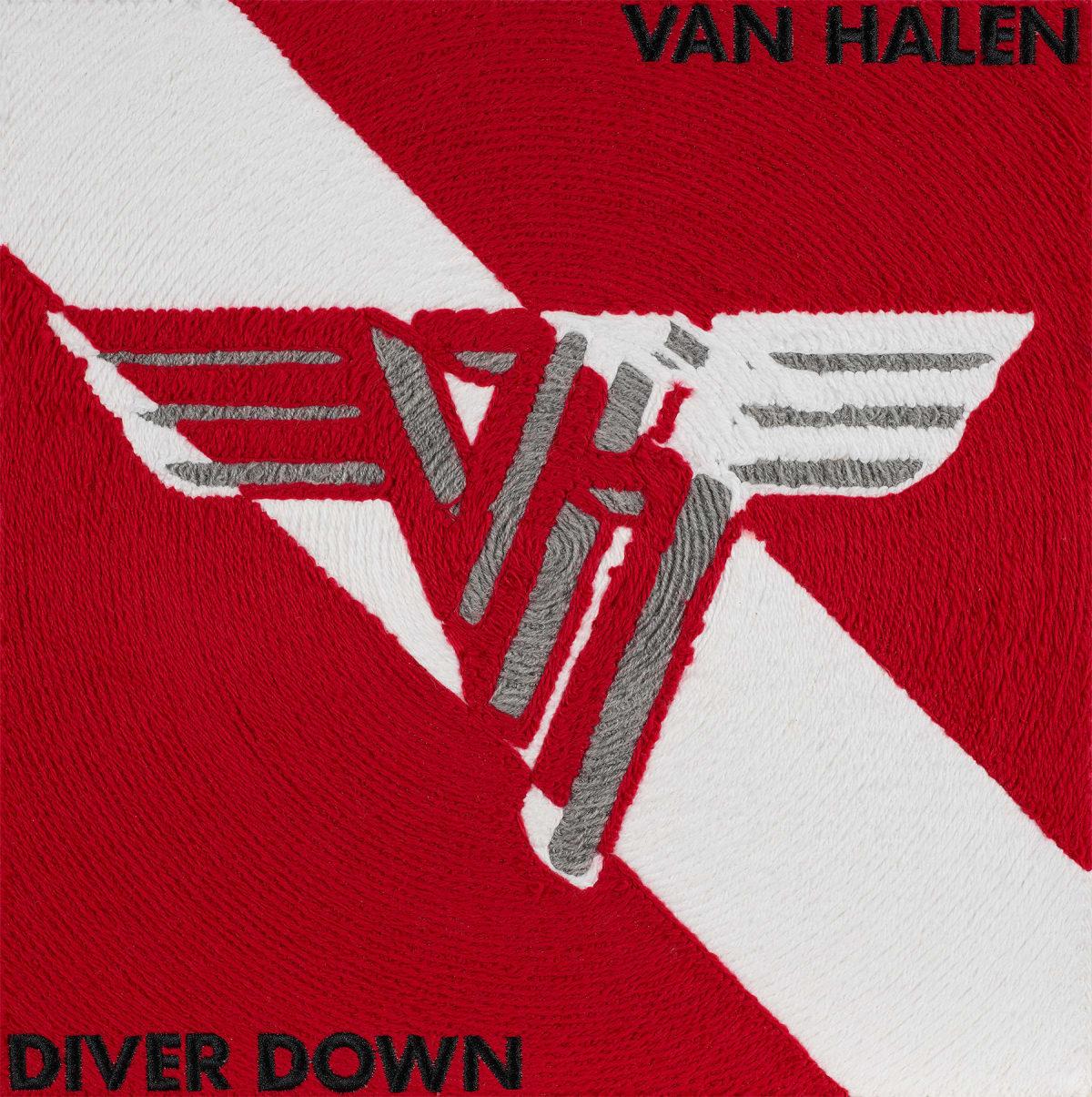 Stephen Wilson, Diver Down, Van Halen, 2019