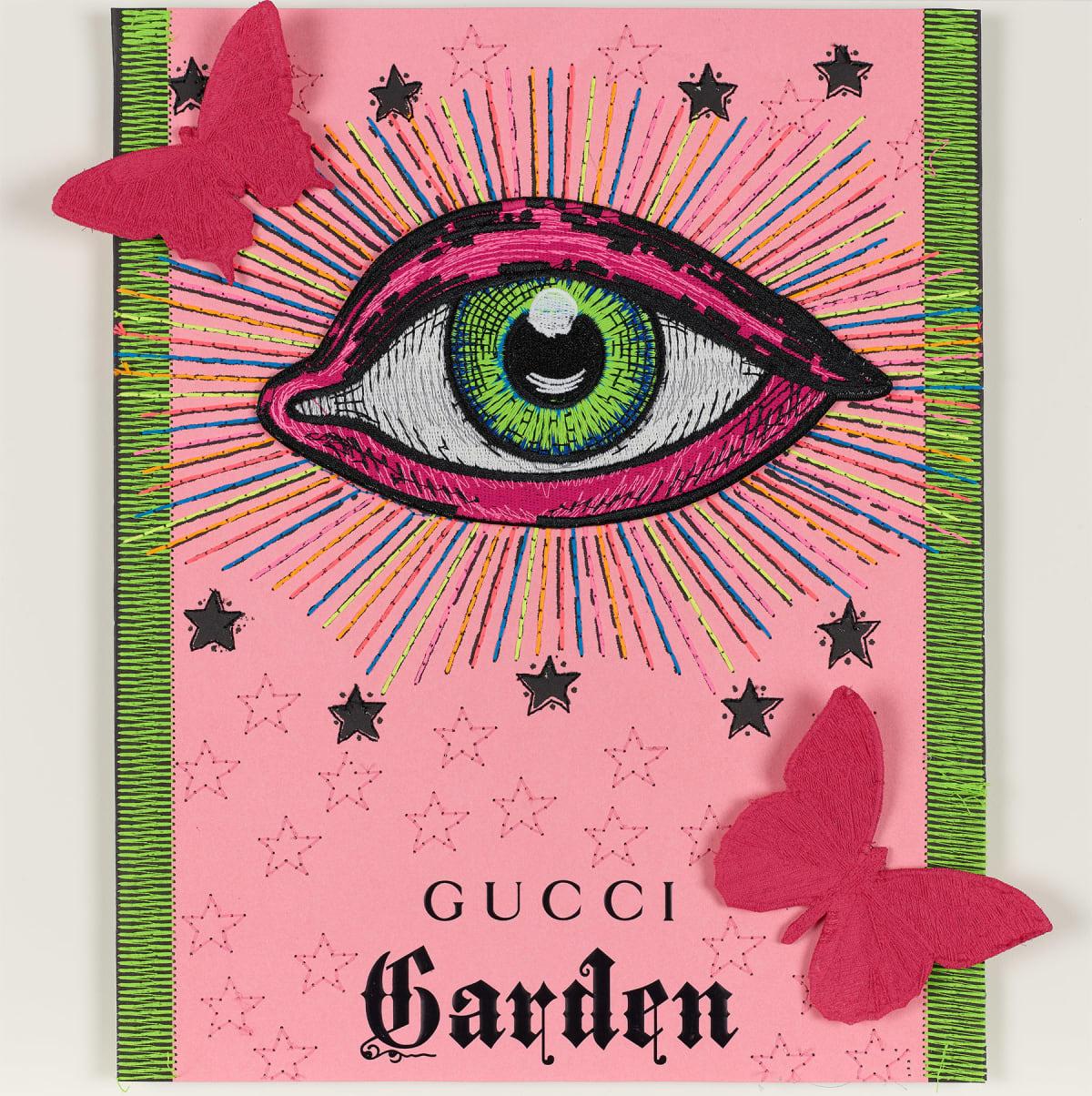 Stephen Wilson, Gucci Neon Garden II, 2020