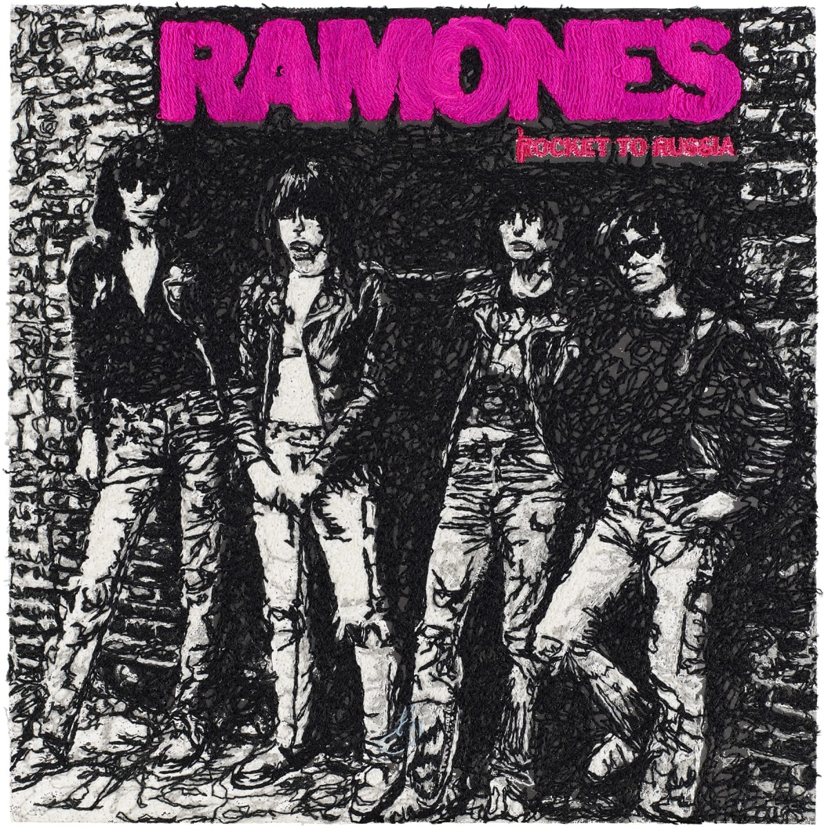 Stephen Wilson, Rocket to Russia, Ramones , 2019
