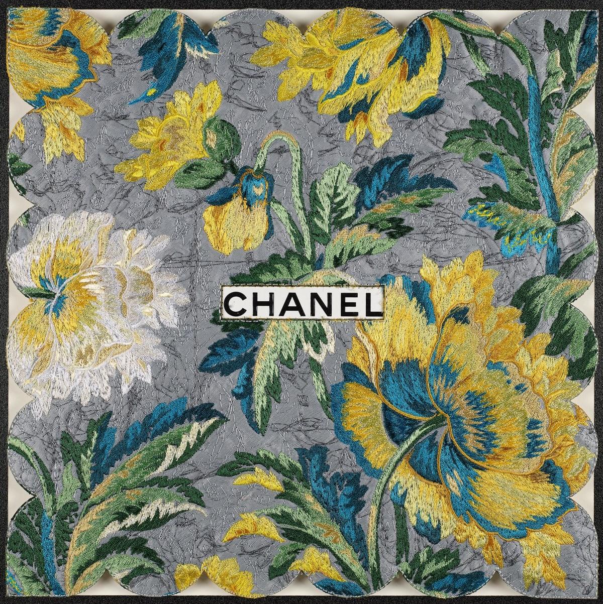 Stephen Wilson, Chanel Silver Garden , 2020
