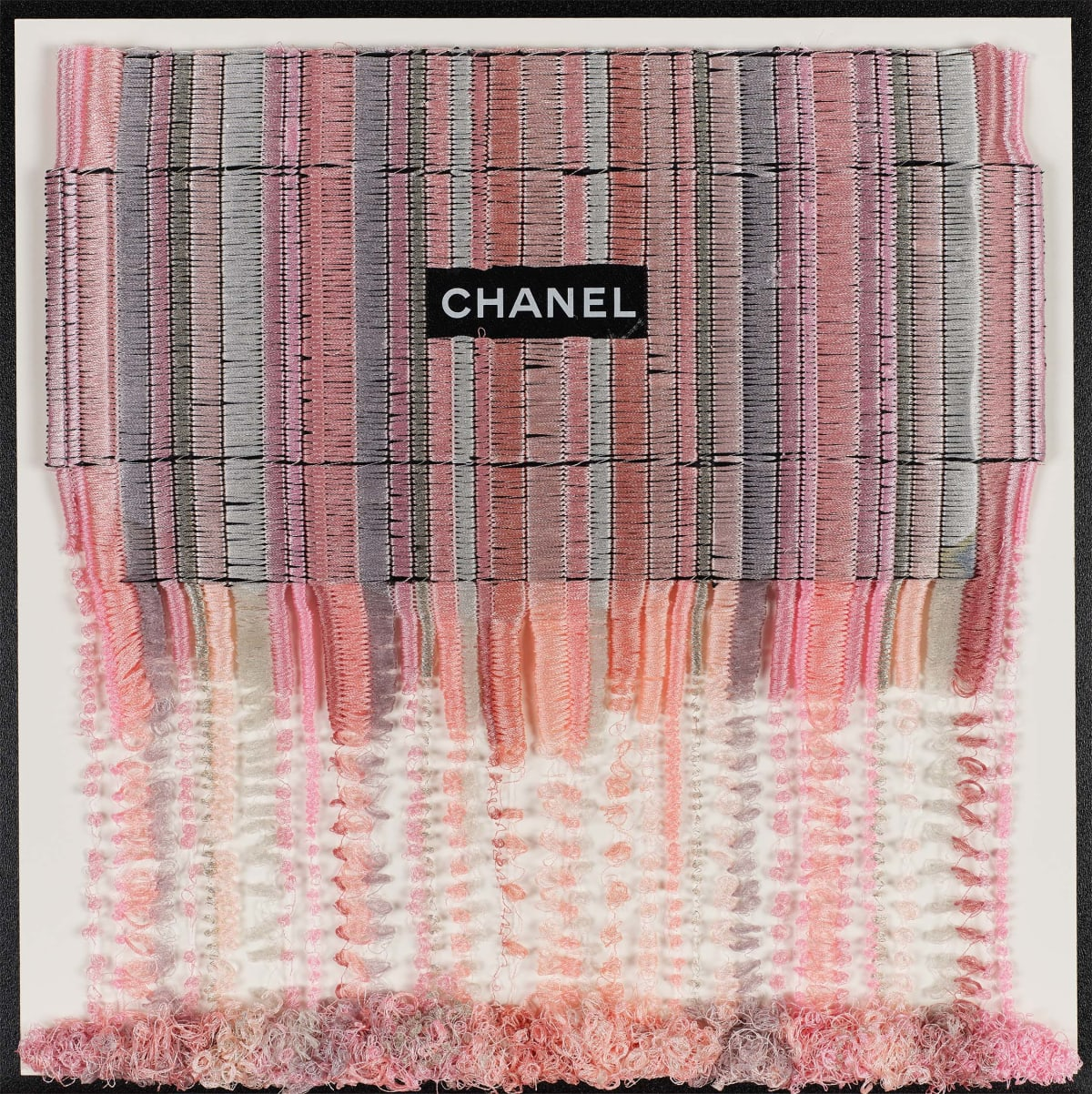 Stephen Wilson, Chanel Blush Drip, 2019