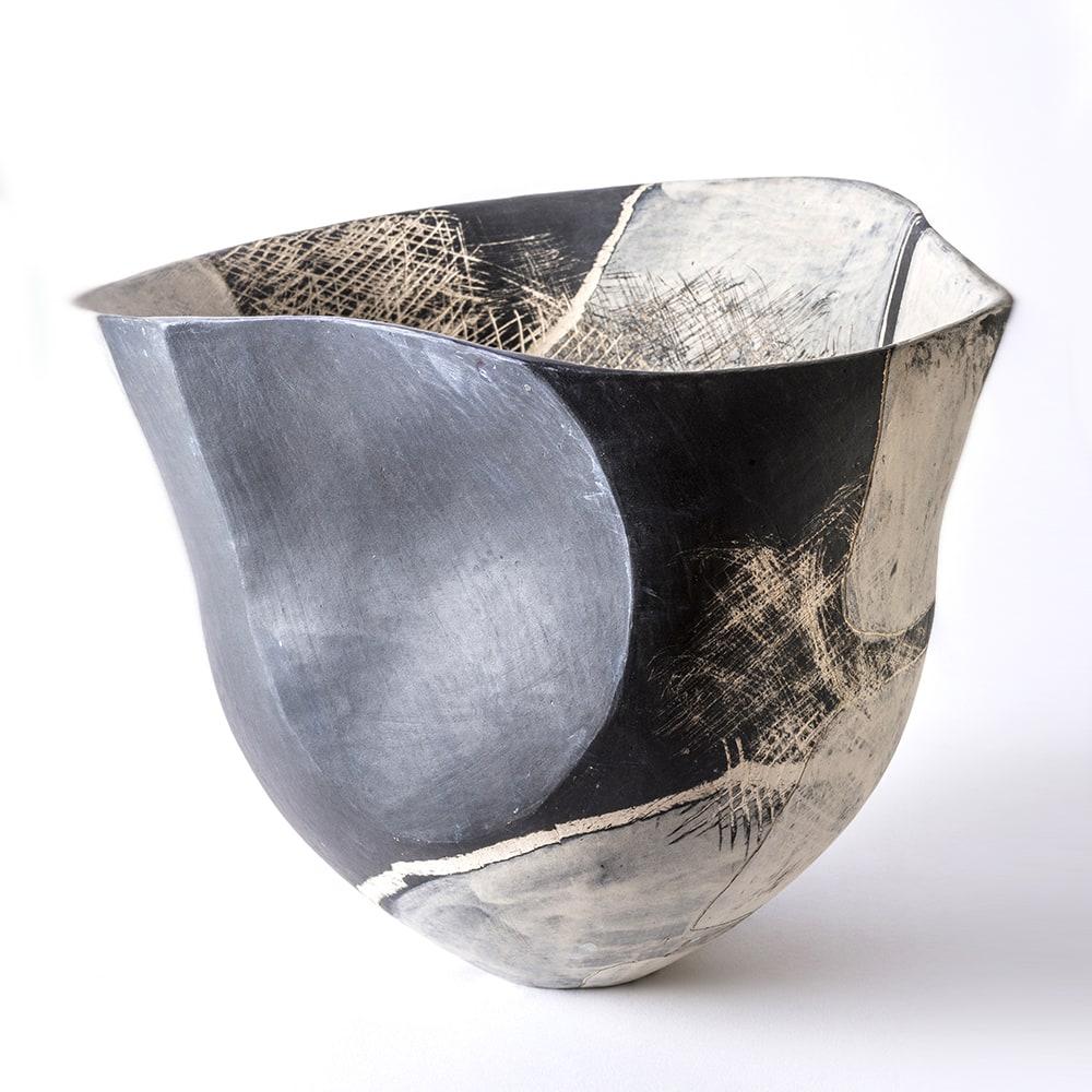 Carolyn Genders, Black & White Vessel