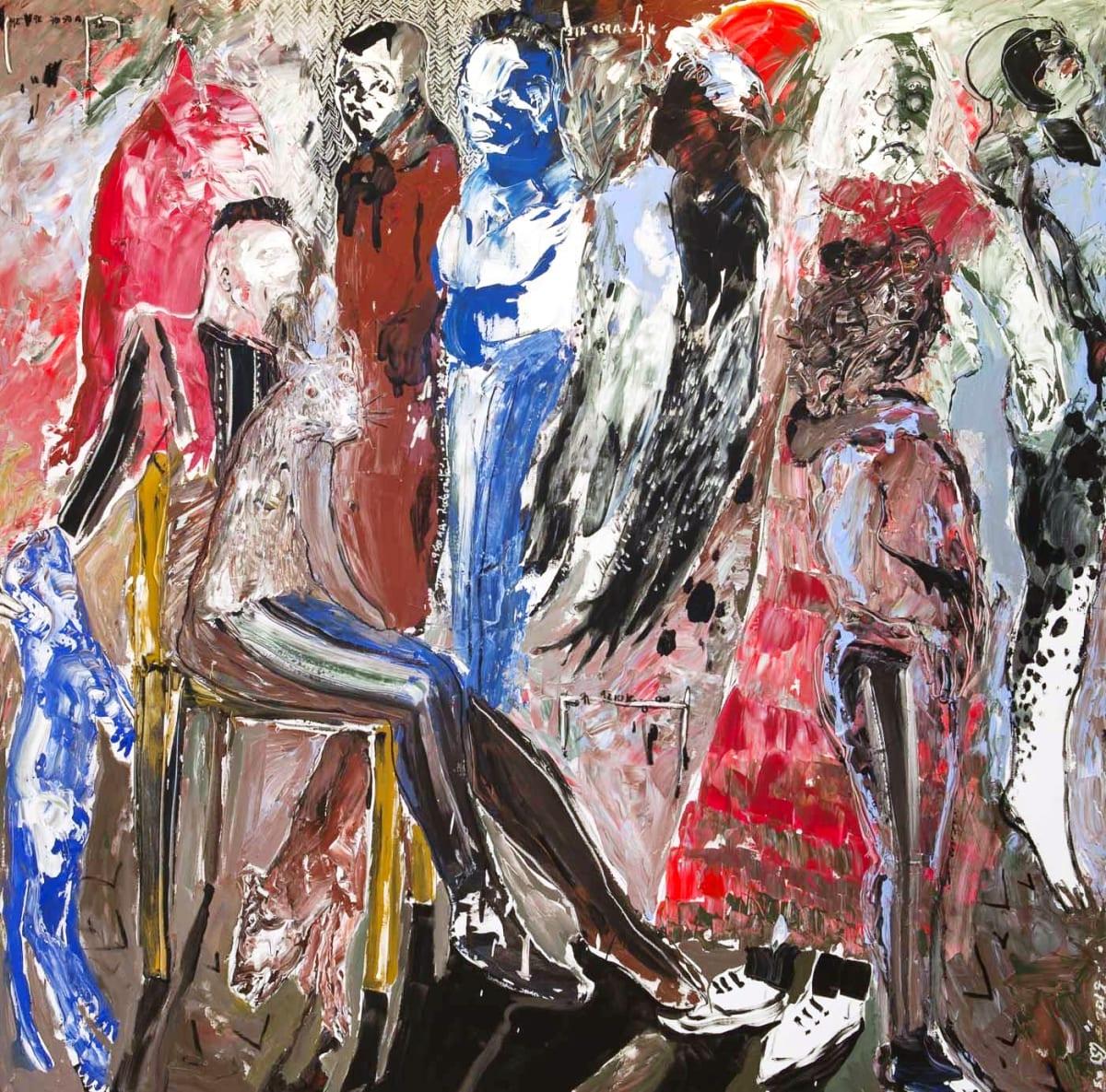 Soly Cissé, Men and Lives V, 2017