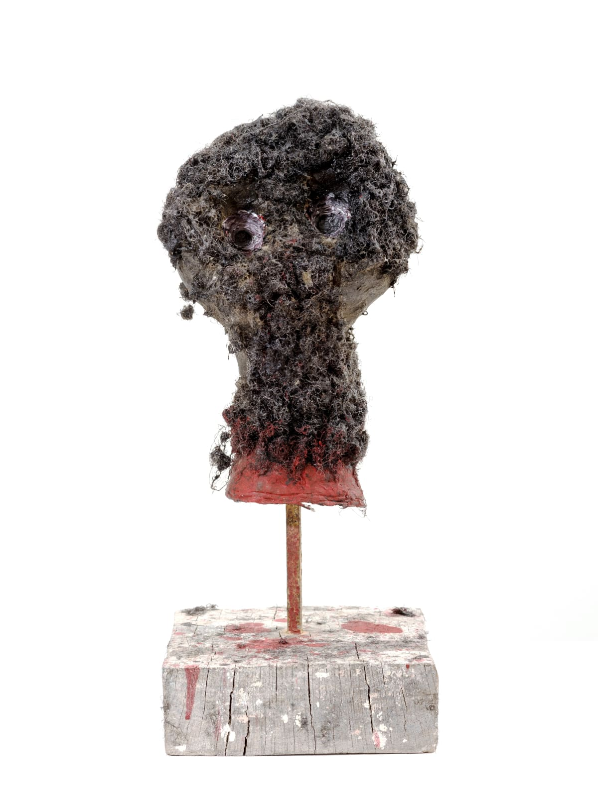 Adjani Okpu-Egbe, A French Soldier 's Trophy Head in Cameroon 1950's/1960's, 2019
