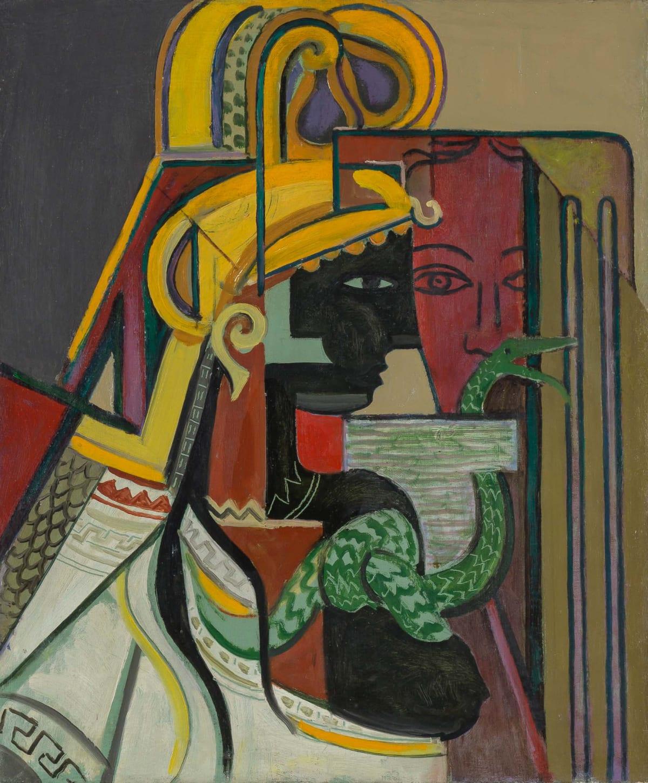 Georges Folmer, Profil et masque, Circa 1928