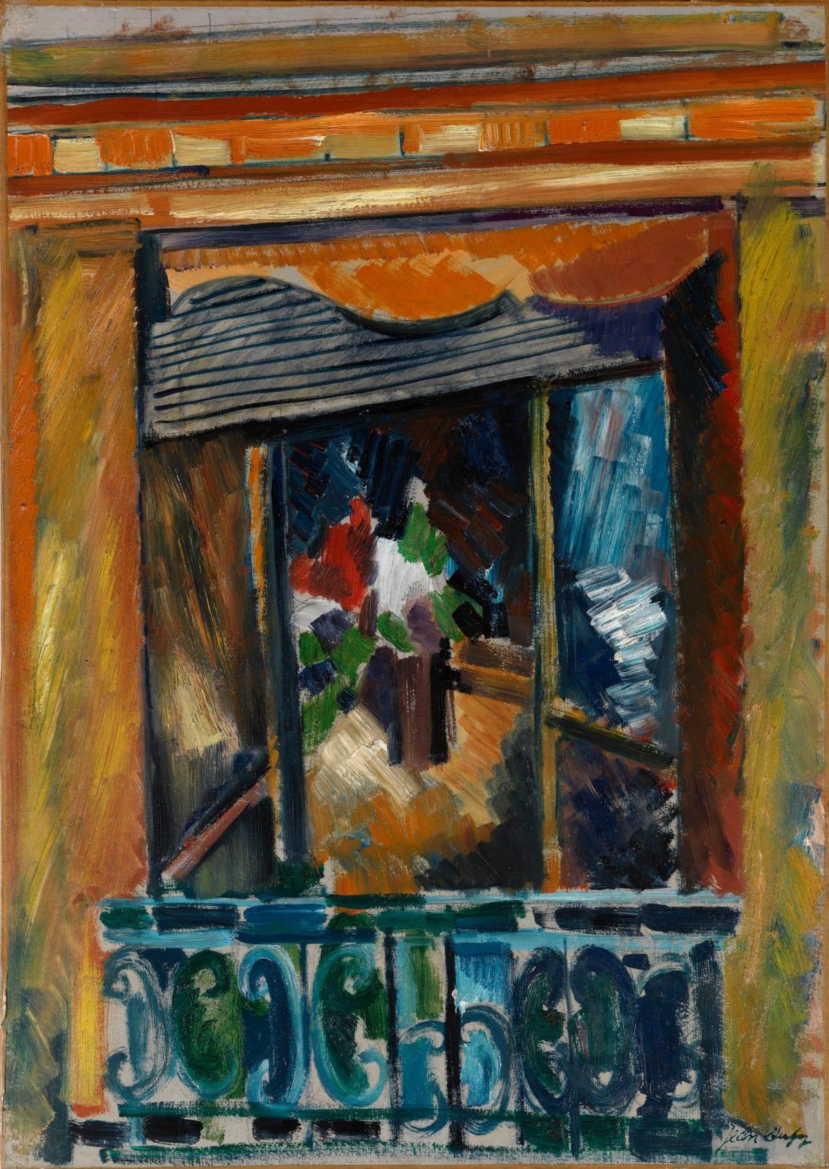 Jean Dufy, La fenêtre de l'atelier, 1919