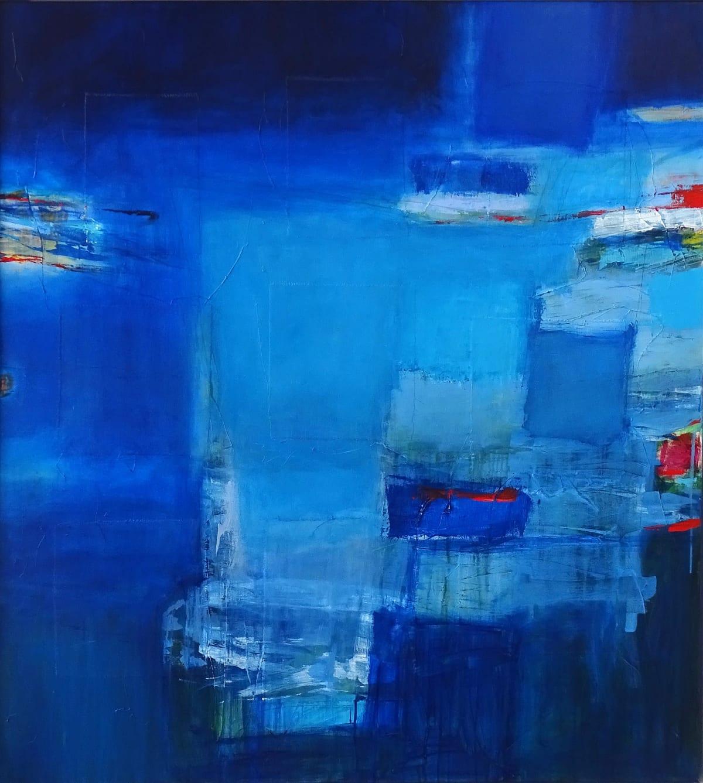 Martyn Brewster, Blue Horizon, 2017