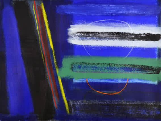 Wilhelmina Barns-Graham, Night Walk Porthmeor No. 2, 1996