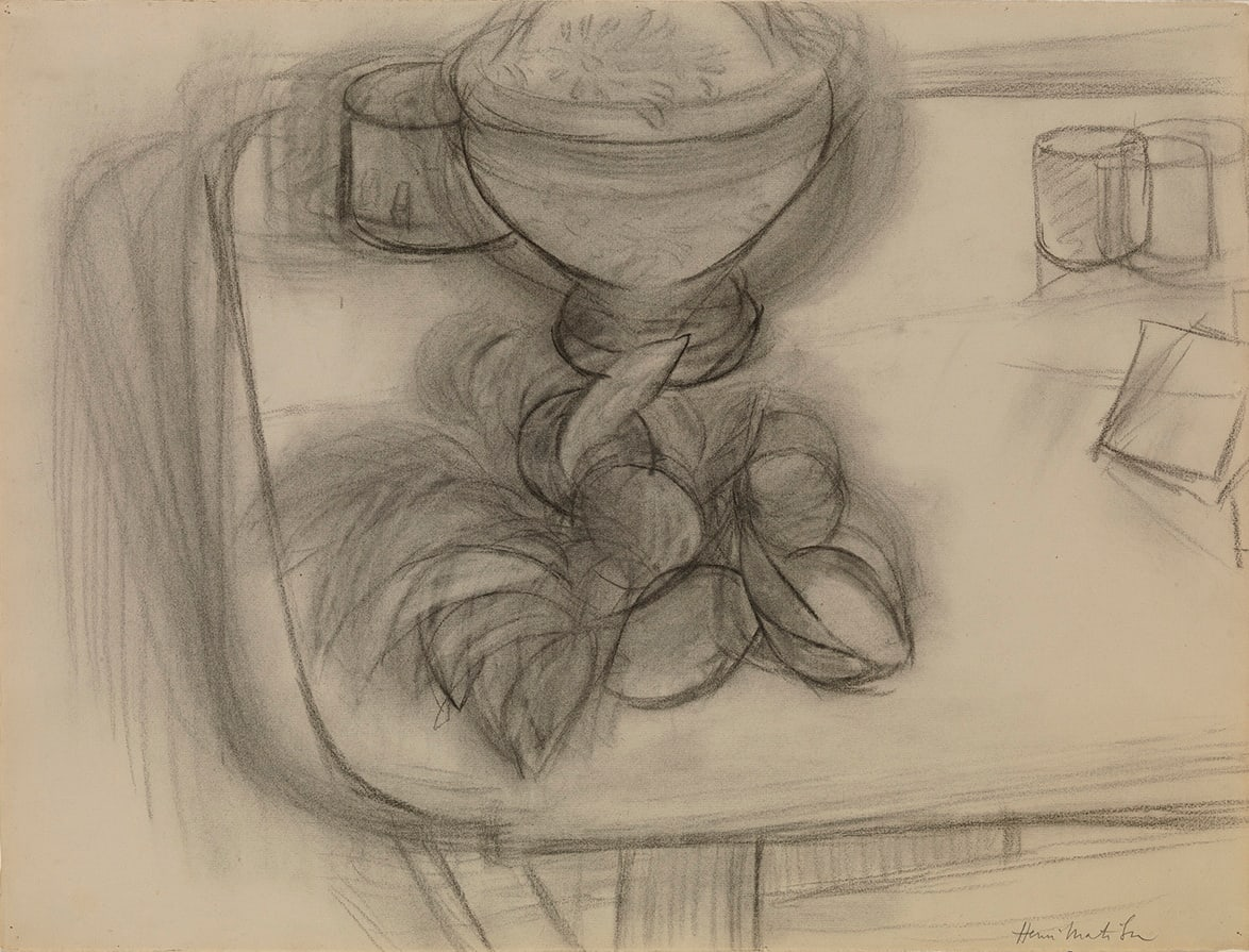 Henri Matisse, Corbeille d'ananas et fruits, 1926