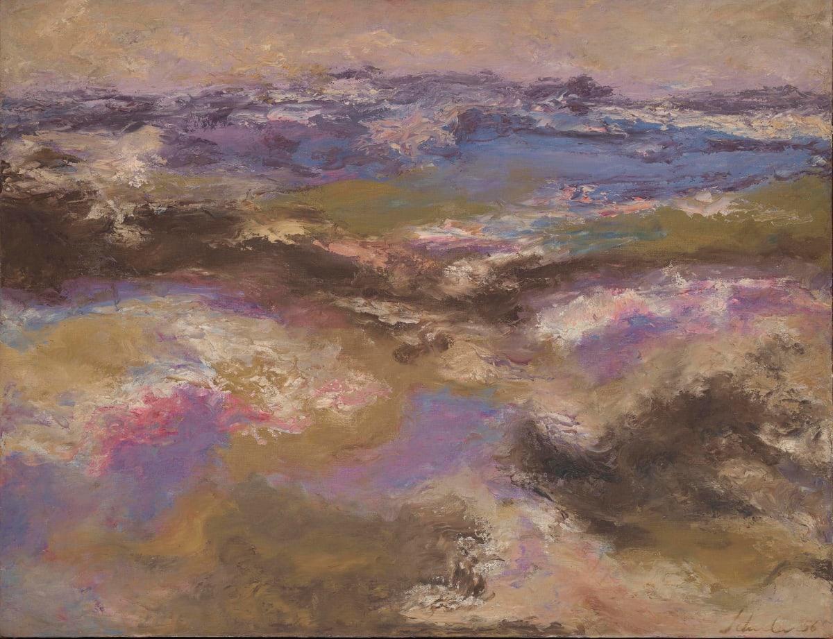 Jon Schueler, Evening Landscape, Martha's Vineyard, Summer 1956, 1956