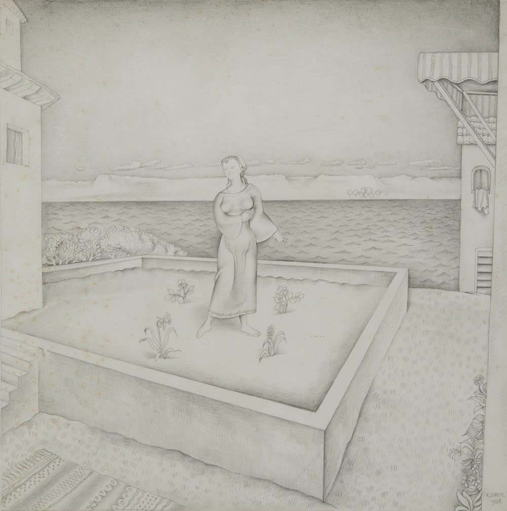 Richard Eurich, The Garden, 1928