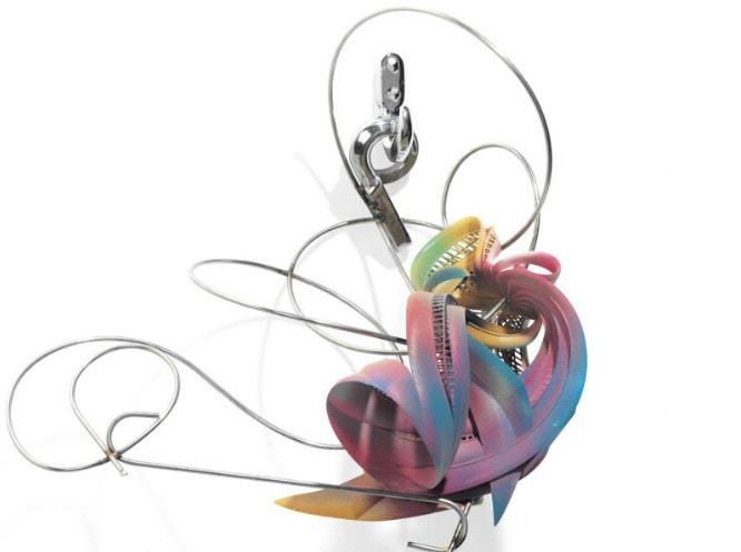Frank Stella, K. 17 (Lattice Variation), 2008