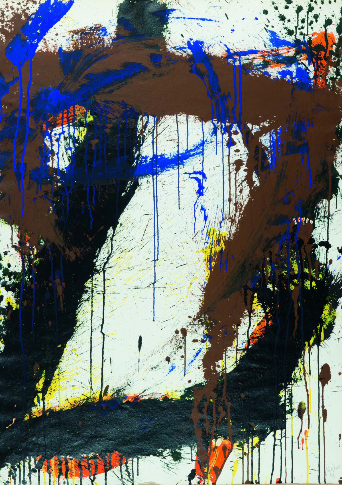 Norman Bluhm, Untitled, 1964