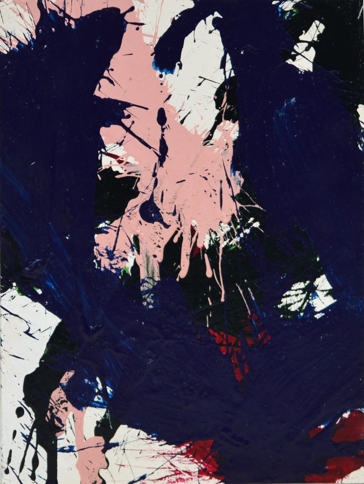 Norman Bluhm, Composition in blue and pink 4, 1967
