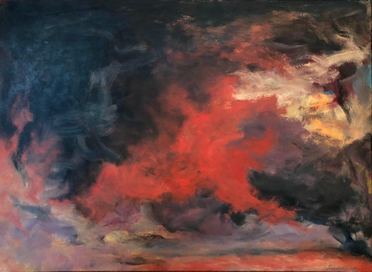 Jon Schueler, Storm, 1962
