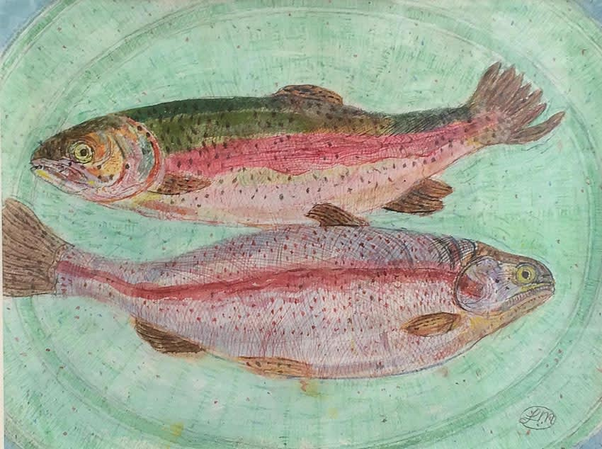 Leonard McComb, River Trout