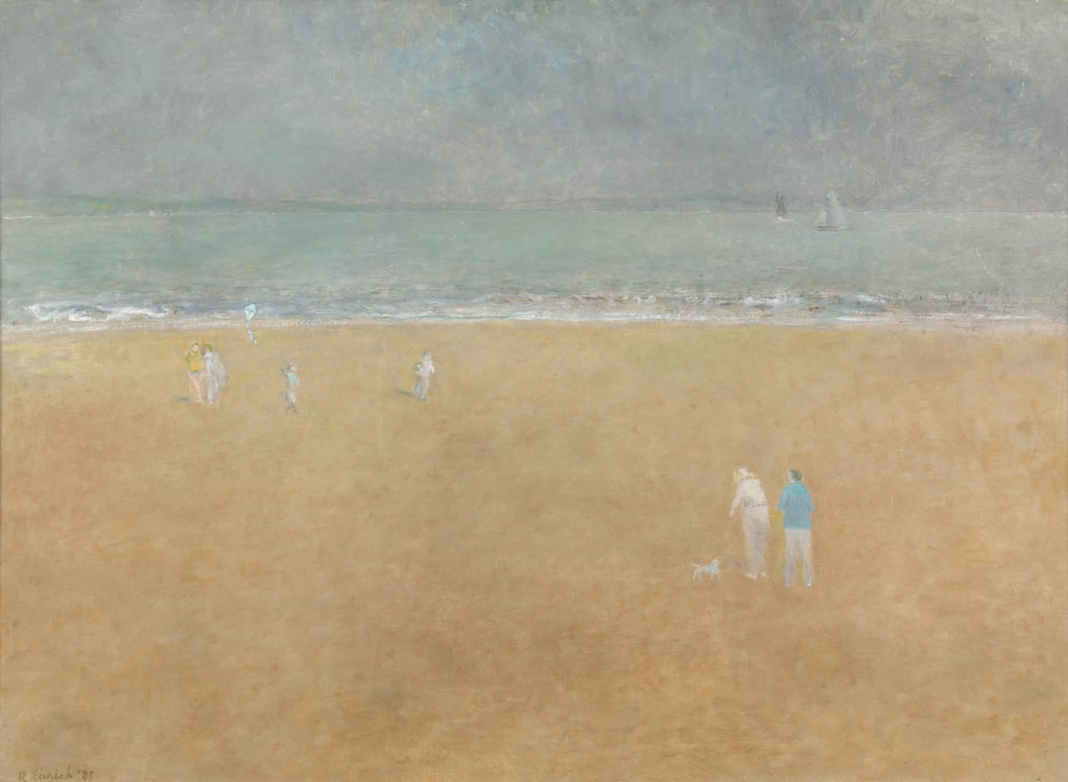 Richard Eurich, Boy with a kite, 1985