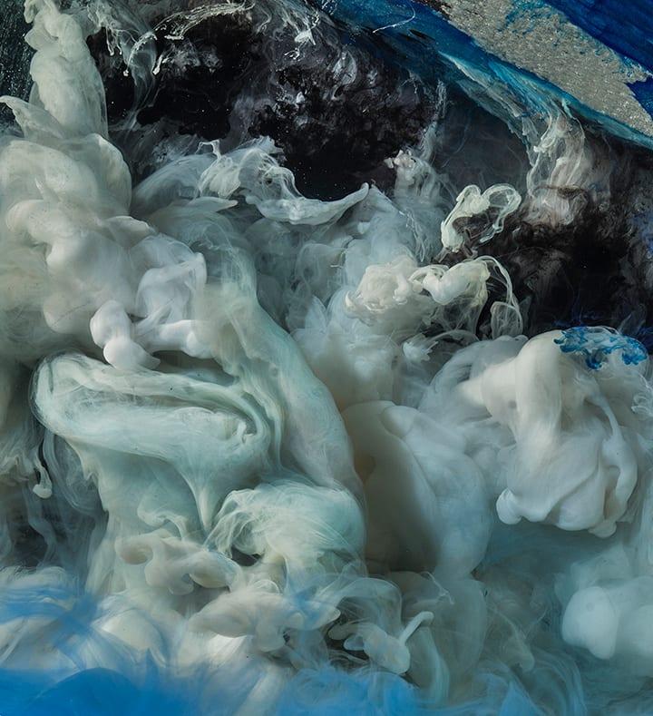 Kim Keever, Abstract 44717b, 2019
