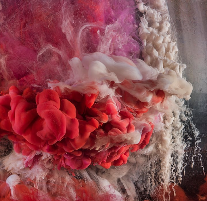 Kim Keever, Abstract 43734, 2018