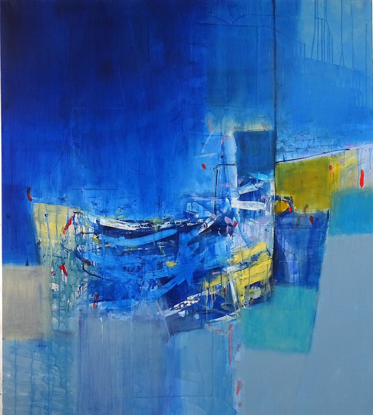 Martyn Brewster, Blue Horizon no. 2, 2019