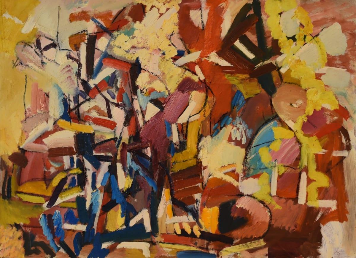Dennis Creffield, Figure Composition, 1981