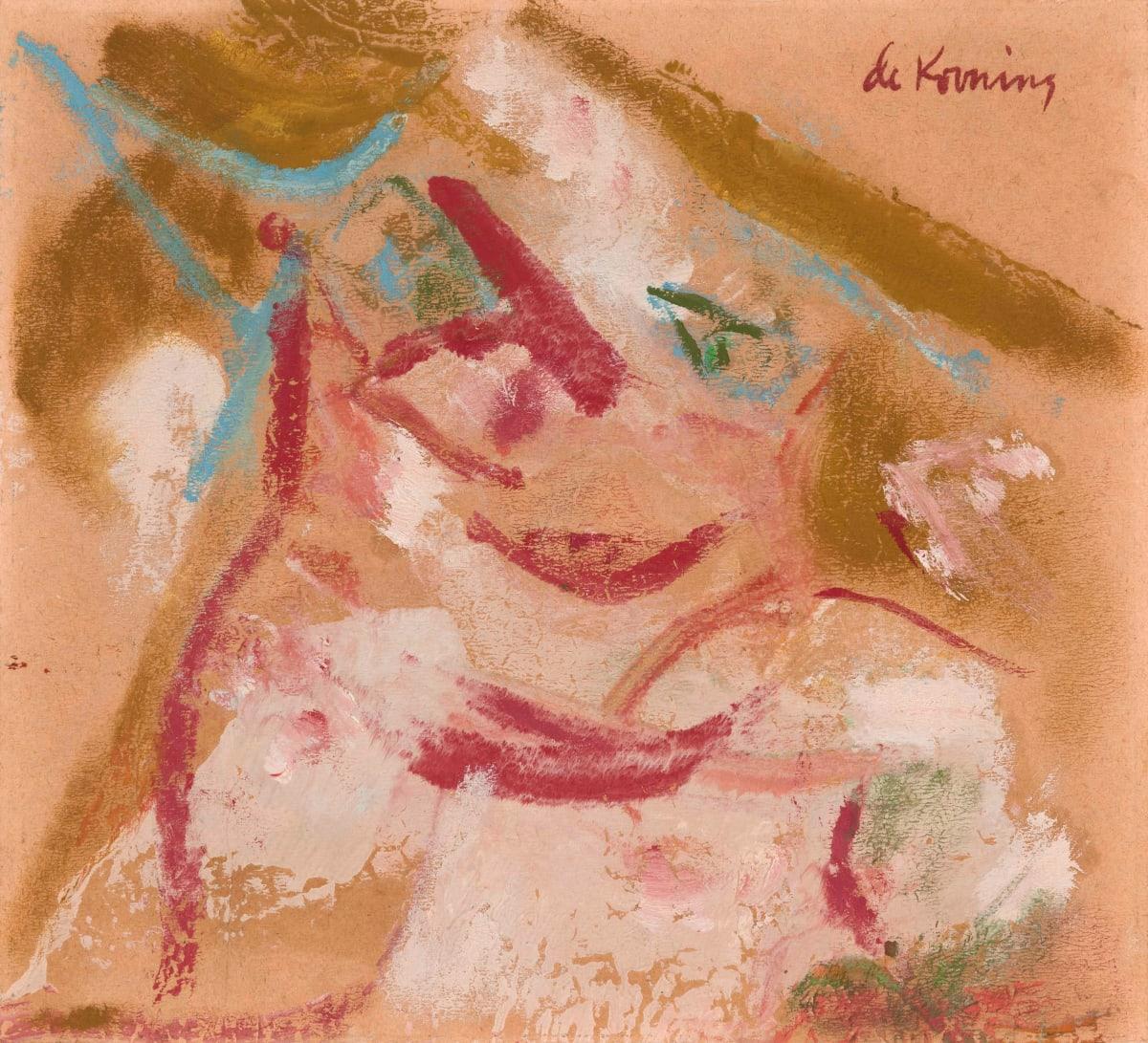 Willem De Kooning, Pink Woman, 1964