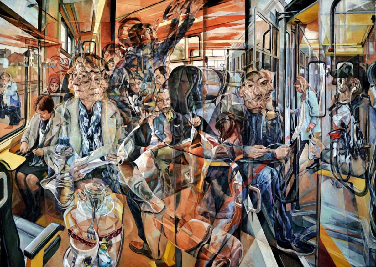 Clive Head, The Cherry Train, 2017