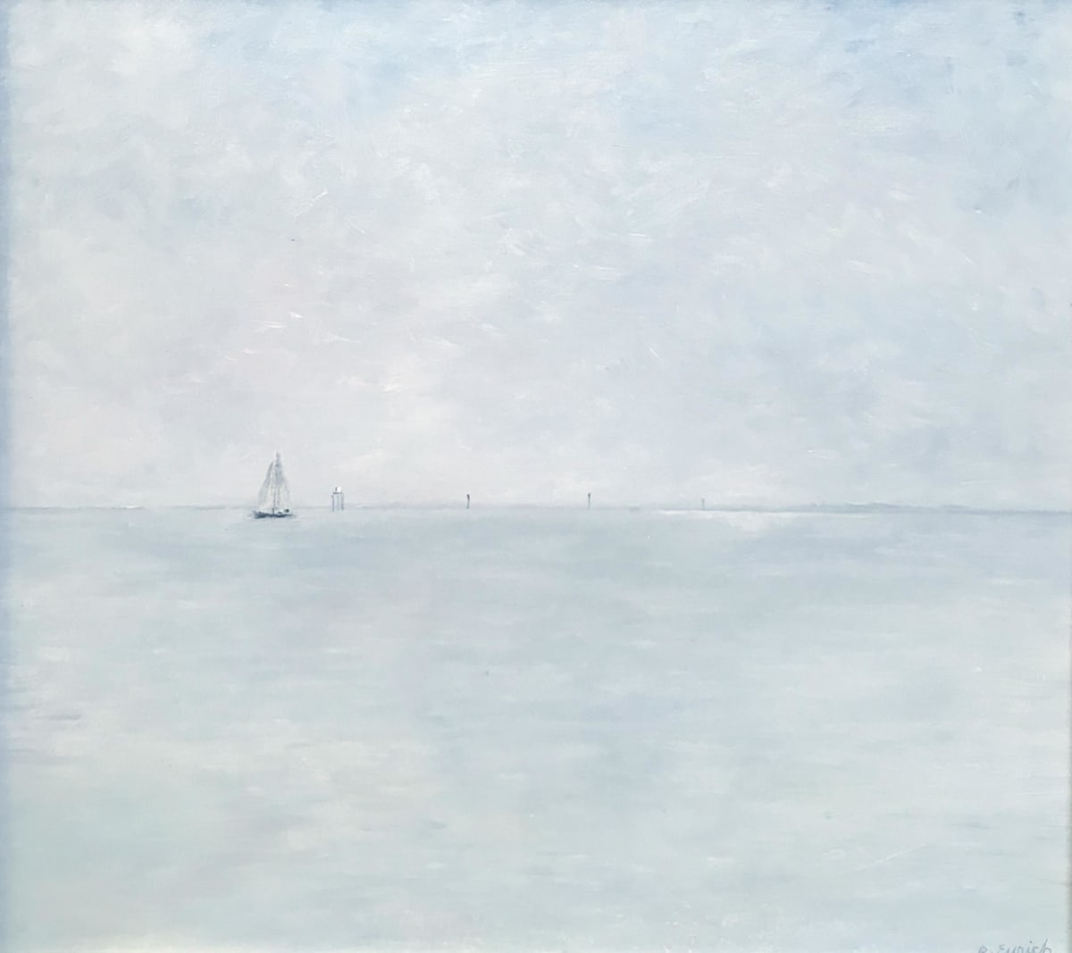 Richard Eurich, Lone sailer, 1988