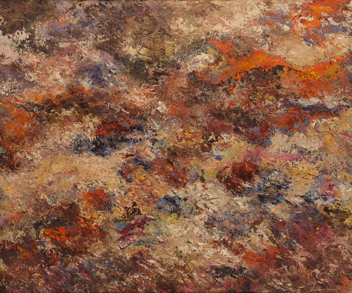 Jon Schueler, Burnt Umber, 1956